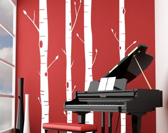 Aspen Trees - Vinyl Wall Decal