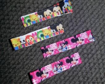 Tsum Tsum Minnie Pigtail Clippie Set
