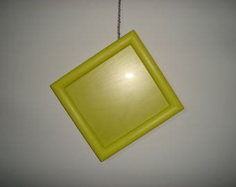 wobbly hanging square picture frame