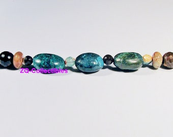 Agate and Turquoise Bracelet