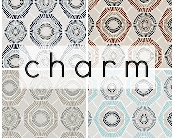 Charm Collection. Taupe Curtain Panels. All Sizes. Decorative Window Treatments. Drapery Curtains. Blue Curtains. Curtains. Curtain Panels.