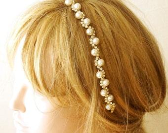 Bridal Headband, Wedding Headband, Hairband, Bridal Hair Accessory, Wedding Hair Accessories