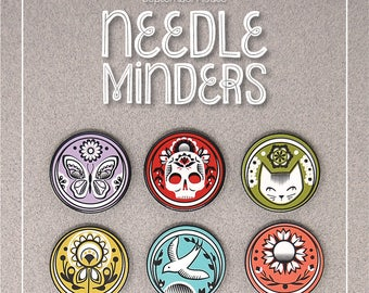 Needle Minder, Needle Nanny Design by SeptemberHouse, Hand Embroidery Accessories, Cross stitch, Embroidery Supplies, Embroidery Tools