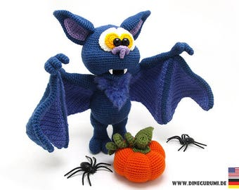 Bat crochet pattern amigurumi