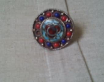 Tibetan ethnic ring