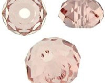 Swarovski 5040 6mm - Vintage Rose - Pack 10