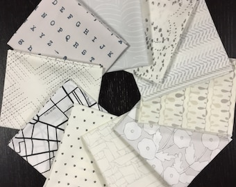 Lower the Volume Full Collection - Art Gallery Fabrics - Capsules - Fabric Bundle with 10 Fat Quarters or 10 Half Yards