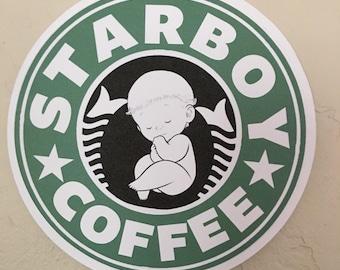 Starbucks Starboy Baby Shower Cake Topper/ Centerpiece