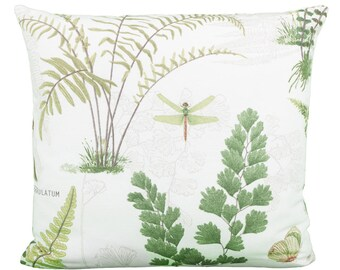 Pillow square grass fahn insects