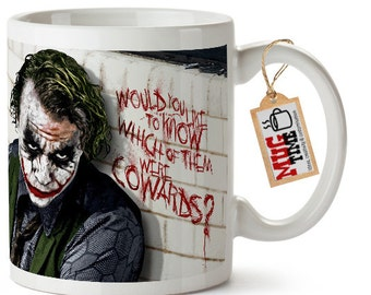 Joker Ceramic Mug Cup - Batman inspired