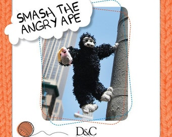 Smash the Angry Ape Knitting Pattern Download 803230