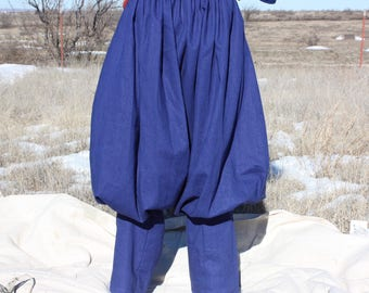 Viking/Rus medium weight Pants, linen.
