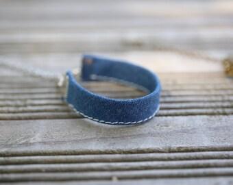 Fabric - Obleu gift bracelet mothers day