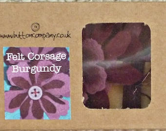 Felt Corsage Sewing Kit - The Button Company