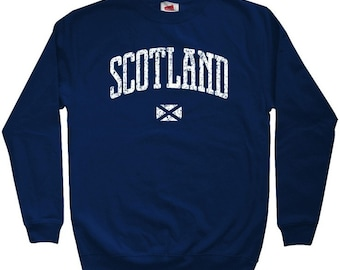 Scotland Sweatshirt - Men S M L XL 2x 3x - Crewneck Scottish Shirt - 4 Colors