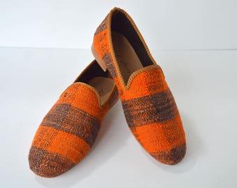 Kilim men shoes 41 euro size (27 cm - 10,5 inch)