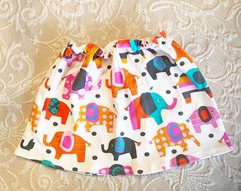 Child's Elephant Cute-n-comfy skirt