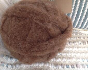 100% Shetland Wool Roving-8oz.