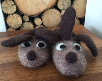 Fun felted slippers Gr. 25-45