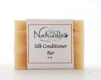 Silk Conditioner Bar - Conditioning Shampoo - Natural Shampoo Bar.Solid Shampoo Bar.All Natural