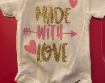 Made with love - onesie