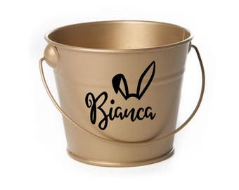 Personalised Easter Pail