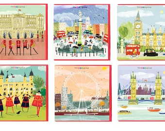 City Life Greetings Card range