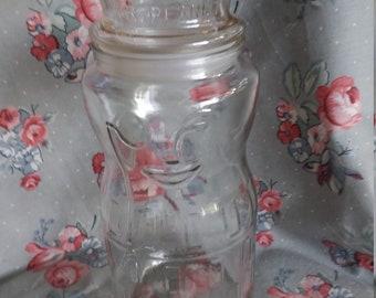 Vintage Mr. Peanut 75 th Anniversary Jar