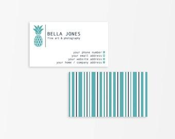 Business Card Template, Modern Business Card, Business Card Design,Modern Calling Card, Calling Card Template