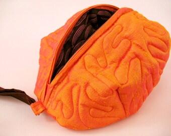 Radioaktiven Orange Gehirn