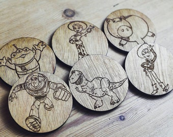 Toy Story Inspired Coasters
