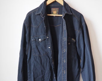Vintage denim black shirt-90's
