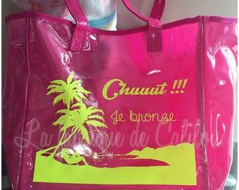 large custom PVC beach bag