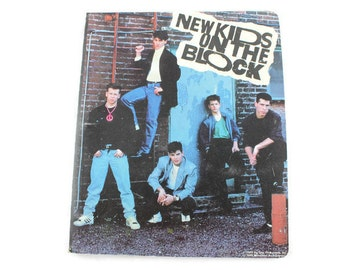 1989 New Kids On The Block Binder With Full Card Set (Big Step Productions)