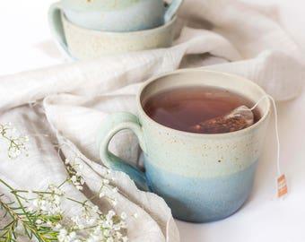 Speckled Mug // Hand-thrown // Ceramic Mug // Coffee Mug // Tea Mug // New Home // Pottery Mug // Wedding Gift // Best Friend Gift
