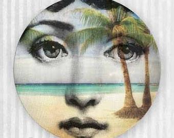 Island paradise Cavalieri plate