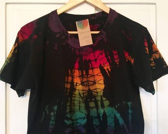 Light Bright - Power Washed Tie Dyed Cotton T-shirt