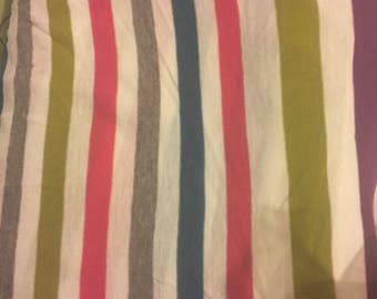 Knit Fabric, Striped fabric, Colorful Knit Fabric, Stretchy Knit Fabric, three plus yards