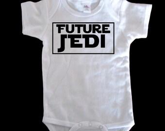 Future Jedi Star Wars Baby onesie bodysuit or toddler t shirt