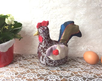 Patchwork little hen/rooster