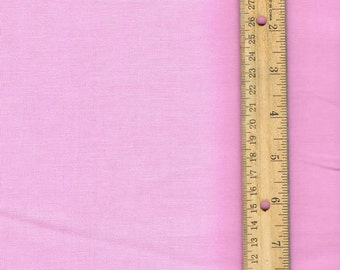 Solid Pink Fabric, Pink cotton fabric, Fabric by the Yard, quilting fabric, sewing fabric