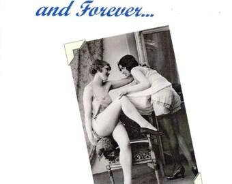 Lesbian Wedding Card - Adoration - Note intime carte carte de voeux