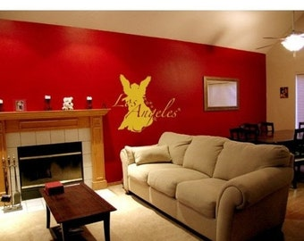20% OFF Memorial Day Sale Los Angeles wall decal, sticker, mural, vinyl wall art