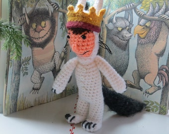 Max... beloved character from 'Where the Wild Things Are' amigurumi