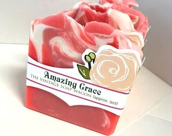 Amazing Grace Handmade Cold Process Soap