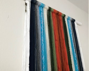 Recess - Large Textured Yarnfall Wall Hanging