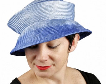 Travel Hat, Womens Straw Hat, Packable Foldable Hat, Folds Flat Hat