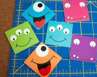 Art Magnets - Monster Smiles Series [Set of 6]