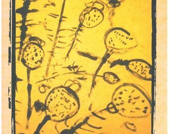 Seed Heads card