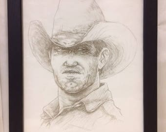 Original Cowboy Artwork